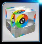 Custom Lucite Cube Award (2 1/2