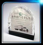 Custom Lucite Ice Effect Award (6 3/4