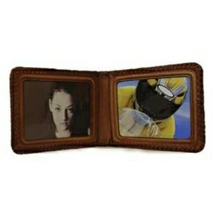 Leather Golf Photo Holder