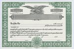 Custom Jackson Stock Certificates