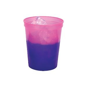 16 Oz. Color Changing Smooth Squat Stadium Cup