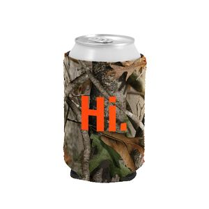 Custom Camouflage Kolder Kaddy Neoprene Can Cover (1 Color)