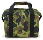 Custom 6 Pack Camouflage Premium Duck Cooler Bag (11.75