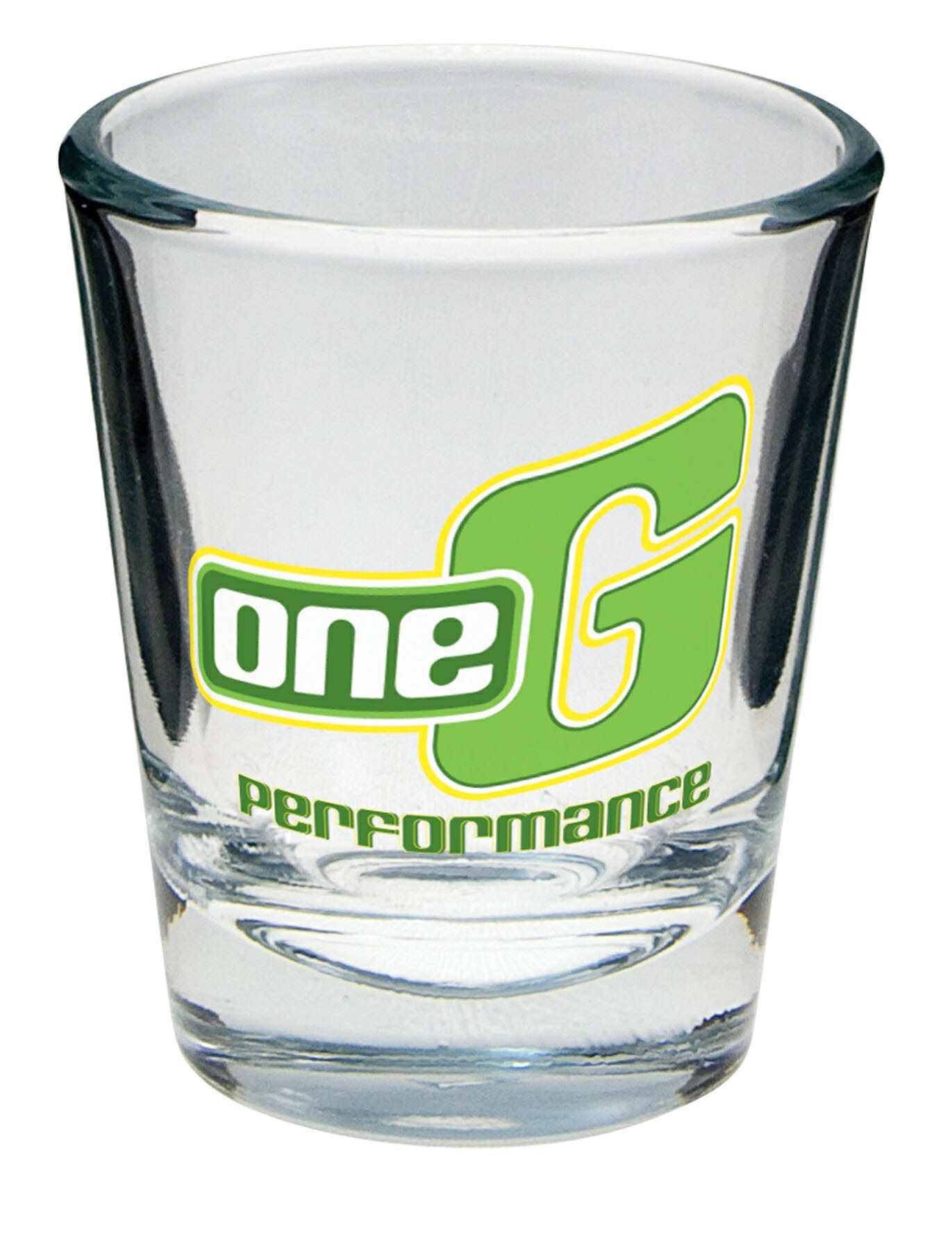 1 1/2 Oz. Clear Glass Shot Glass