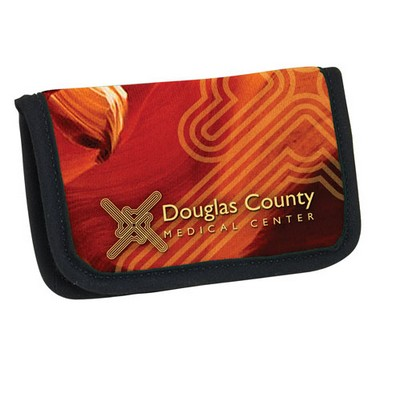 Cubbon advertising promotional products apparel neoprene business card atm card holder 4 color process reheart Gallery