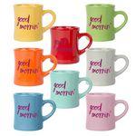 Custom Diner Mug 10 Oz. Colors