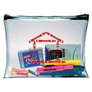 Clear Vinyl Economical Briefcase (1 Color)