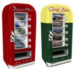 Custom Retro Can Cooler Vending Machine Fridge