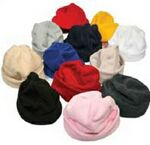 Custom Premium Youth Foldover Fleece Toque/Hat