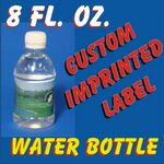 Custom 8 Oz. Bottled Water 1