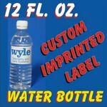 Custom 12 Oz. Bottled Water 1