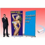 Custom Large Retractable Promo Banner - 1 Sided (47.25