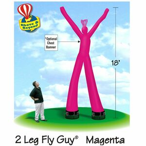 Fly Guy Dancing Inflatable Tube Dancer