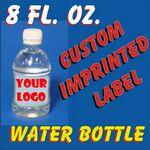 Custom 8 Oz. Bottled Water 2