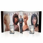 Custom 20ft Trade Show Display System. The Pop Up forms an open