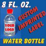 Custom 8 Oz. Bottled Water 3
