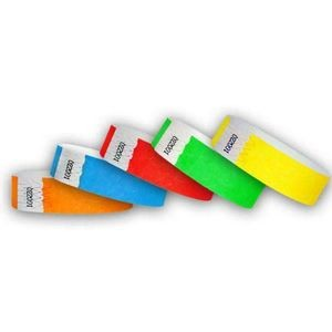 "3/4"" Tyvek Wristband Value Pack #1 Unimprinted"