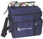 Custom Small Picnic Cooler - mini cooler bag - navy blue cooler bag