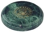 Custom Green Marble Desk Accessory (Disc)