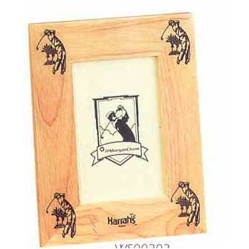 "Custom Picture Frame Collection Golf Frame (4""x6"")"