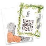 Custom Earth Day Seed Money Coin Pack (10 coins) - Stock Design E