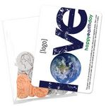 Custom Earth Day Seed Money Coin Pack (10 coins) - Stock Design D