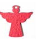 Custom Mini Angel with Wing and Halo Style Shape Seed Paper Gift Pack