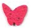 Custom Seed Paper Shape Bookmark - Butterfly Style 6 Shape