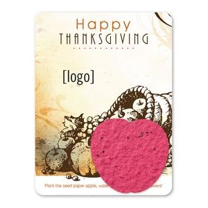 Thanksgiving Mini Seed Paper Shape Gift Pack