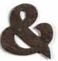 Custom Seed Paper Shape Bookmark - Ampersand Shape