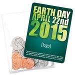 Custom Earth Day Seed Money Coin Pack (10 coins) - Stock Design K