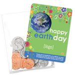 Custom Earth Day Seed Money Coin Pack (10 coins) - Stock Design I
