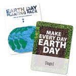 Custom Earth Day Seed Paper Globe Gift Pack - Stock Design A