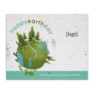 Seed Paper Postcard - Earth Day