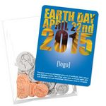 Custom Earth Day Seed Money Coin Pack (10 coins) - Stock Design L