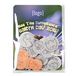 Custom Earth Day Seed Money Coin Pack (10 coins) - Stock Design Q