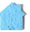 Custom Seed Paper Shape Bookmark - House Style 5 Shape