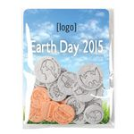 Custom Earth Day Seed Money Coin Pack (10 coins) - Stock Design A