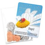 Custom Earth Day Seed Money Coin Pack (10 coins) - Stock Design O
