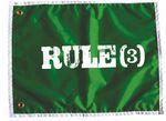 Custom Nylon Golf Flag with Sleeve (18