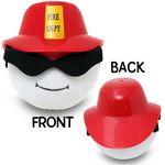 Custom CoolBalls Fireman Antenna Topper