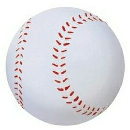 "3 1/4"" Inflated Rubber Bouncing Baseball"