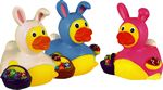Custom Rubber Easter Bunny Duck© Toy