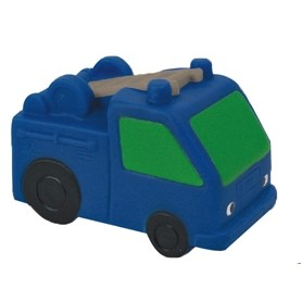 Rubber Fire Truck Toy