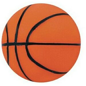 "5"" Inflated Rubber Bouncing Basketball"