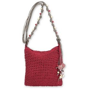 Sun 'N' Sand® Natural Crochet Crossbody Bag Nina
