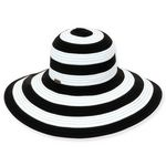 Custom Sun 'N' Sand Two Tone Sewn Ribbon Hat