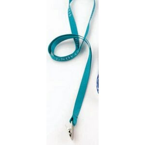 "5/8"" Flat Polyester Lanyard with 10 Business Day Production Time"