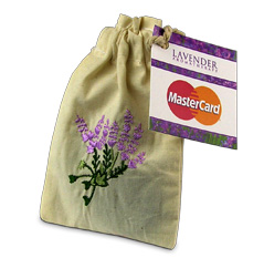 Lavender Seeds in Pouch