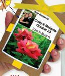Custom Wedding Flower Pouch